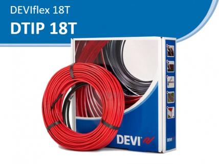 DEVIflex 18T нагревательный кабель, для устройства теплого пола.