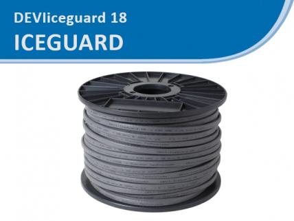DEVI Iceguard саморегулирующийся кабель, с мощностью 18 Вт/м при 10 °C