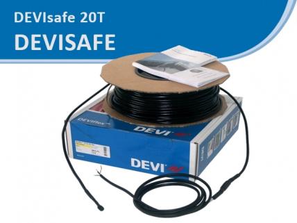 DEVIsafe 20T резистивный кабель, с мощностью 20 Вт/м
