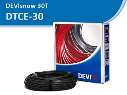 DEVIsnow 30T / DTCE-30 кабель резистивный, с мощностью 30 Вт/м