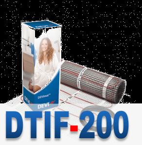 Теплый пол Devimat DTIF 200