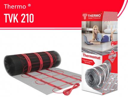 Теплый пол Thermomat TVK 210 (Швеция)