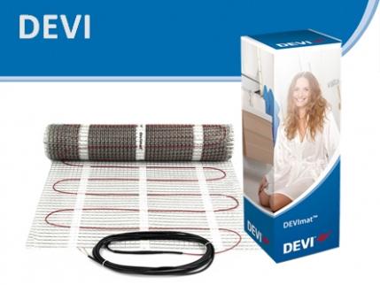 Теплый пол Devi (Деви) под плитку. Цена на нагревательные маты Devi