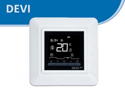 Терморегуляторы DEVI (Деви) DEVIreg для теплого пола, цена, купить.