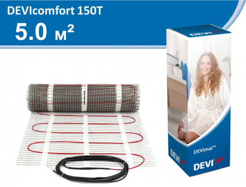 DEVIcomfort DTIR-150 - 5,0 кв.м.