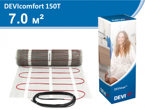 DEVIcomfort 150T (DTIR-150) - 7,0 кв.м.