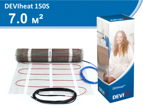DEVIheat 150S (DSVF-150) - 7,0 кв.м.