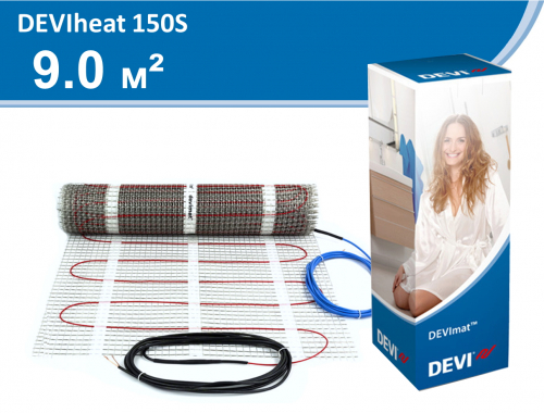 DEVIheat 150S (DSVF-150) - 9,0 кв.м.