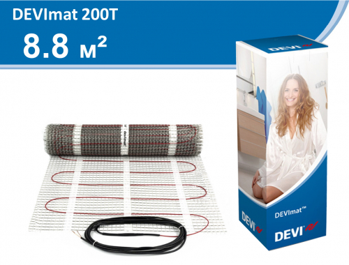 DEVImat 200T (DTIF-200) - 8,8 кв.м.