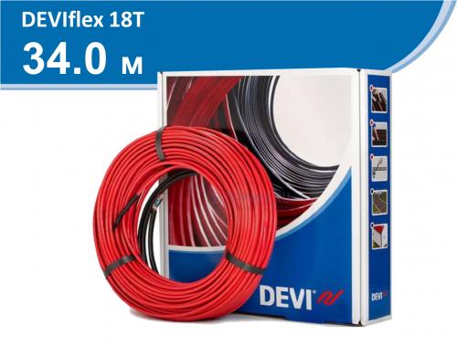 DEVIflex 18T (DTIP18T) - 34 м