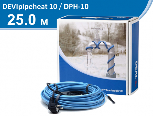 DEVIpipeheat 10 DPH-10 - 25 м