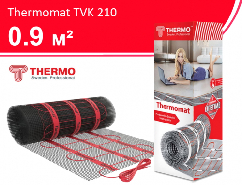 Thermomat TVK 210 - 0,9 кв.м.