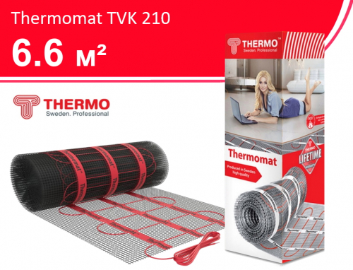 Thermomat TVK 210 - 6,6 кв.м.