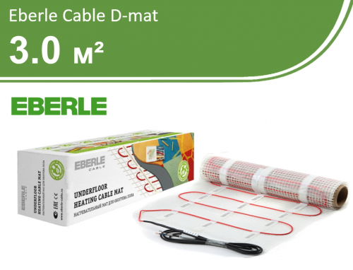 Eberle Cable D-mat - 3,0 кв.м.